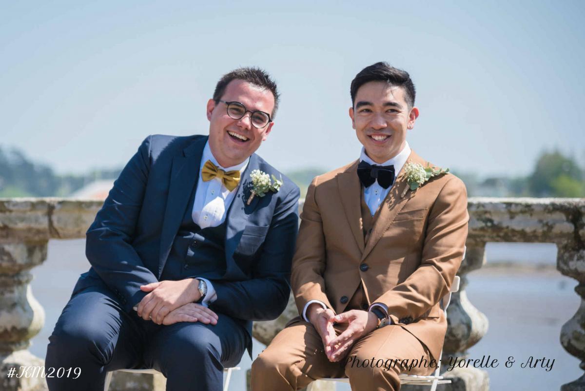 Mariage Franco-Canadien-Hong-kongais -
