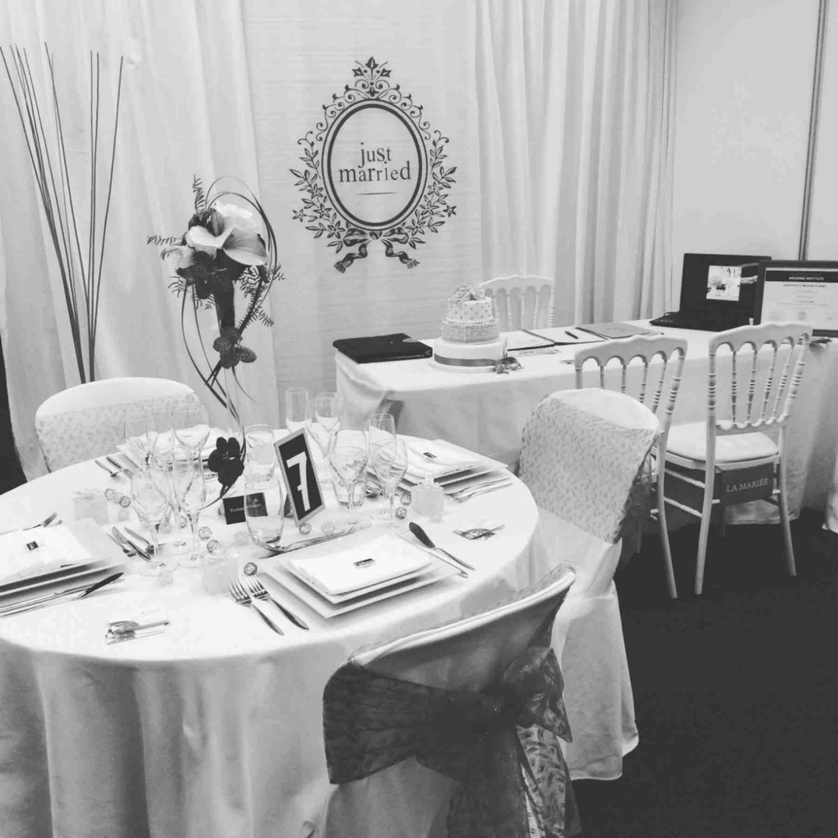 Wedding salon in Quimper in 2016...